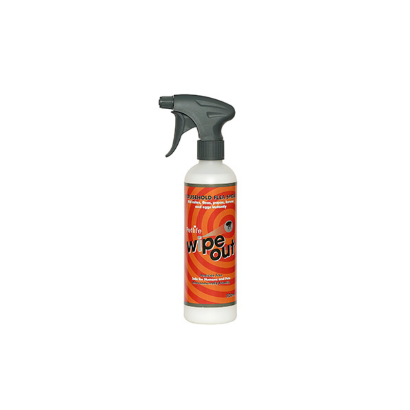 Wipe-Out Flea killer  500ml trigger spray