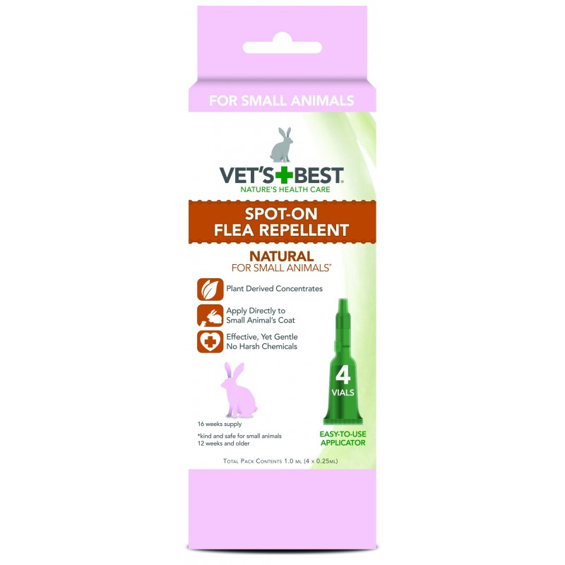 Vet's Best Spot-on Flea Repellent For Small Animals
