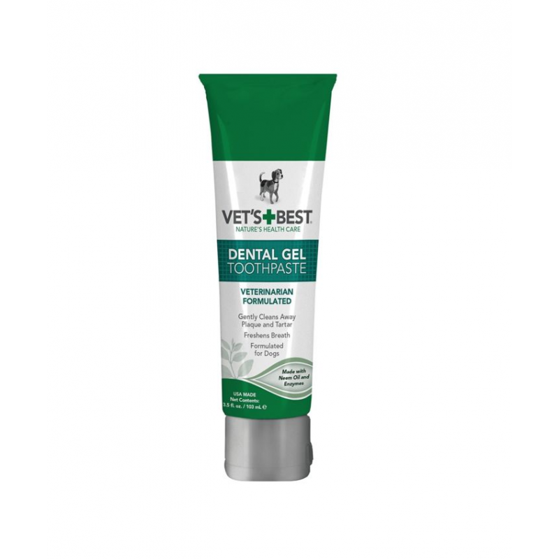 Vet's Best Dental Tooth Gel 100ml