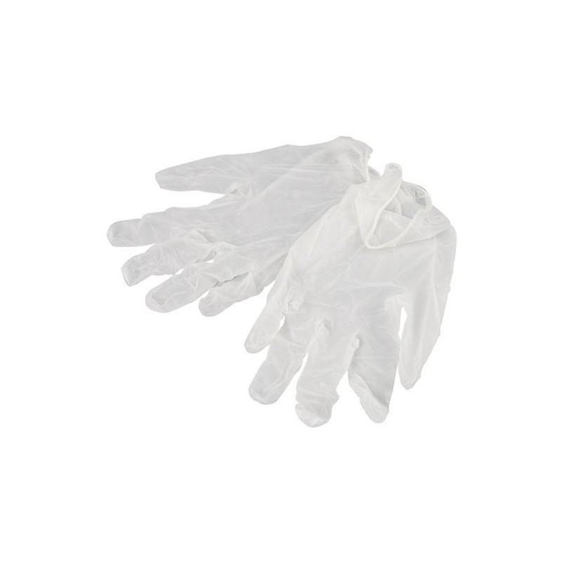VINYL disposable gloves, powder free,box