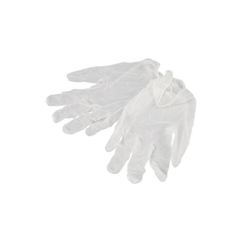 VINYL disposable gloves, powder free,box