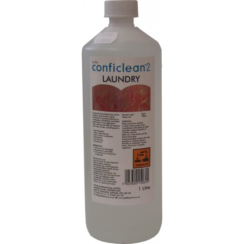 Conficlean2 Laundry Wash  5lt  bulk buy