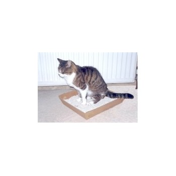 Catac Disposable cat litter tray x 4