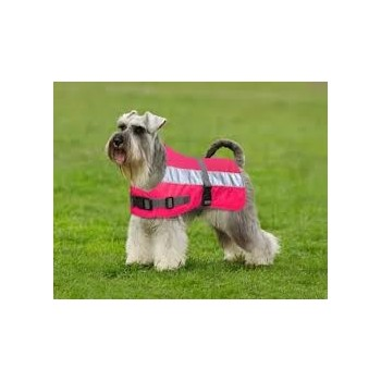 Flecta Hi-vis Dog Jacket Pink