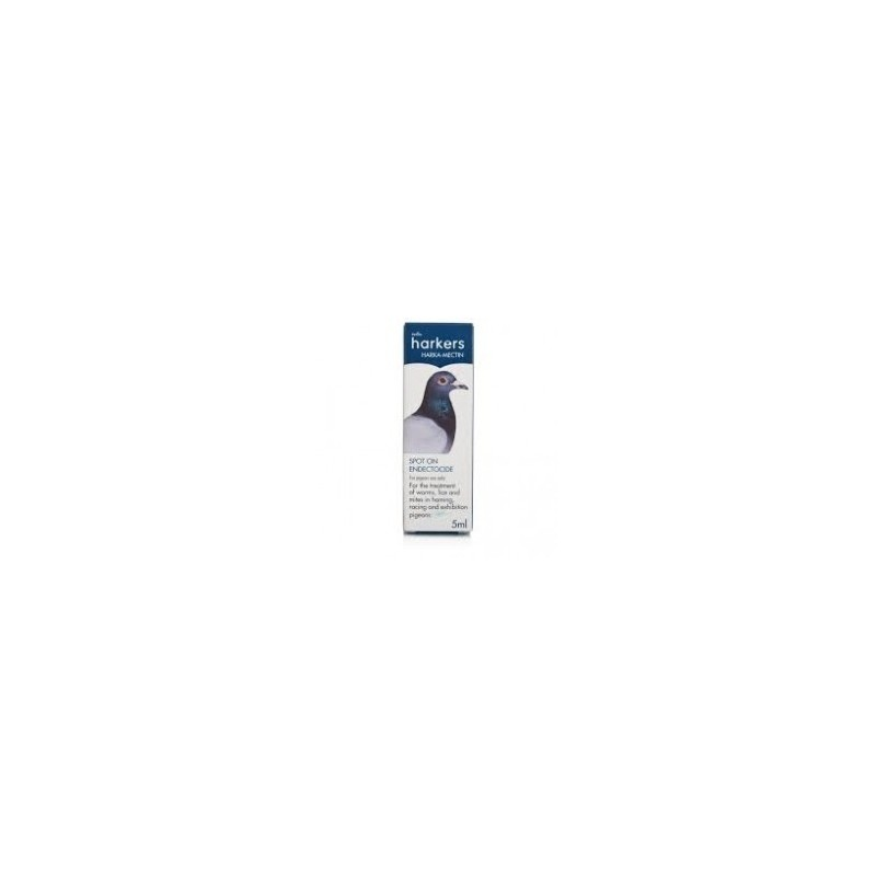 Harkers Harkamectin 5ml for internal & external parasites of pigeons