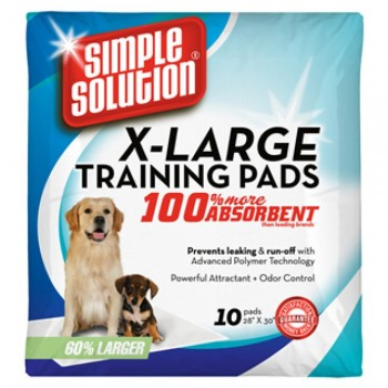 Simple Solution XL Puppy Training Pads, pack of 10