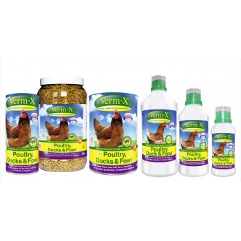 Verm-X for Poultry - liquid