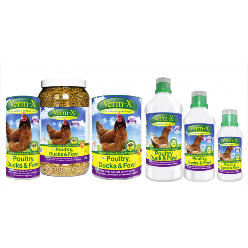 Verm-X for Poultry - pellets
