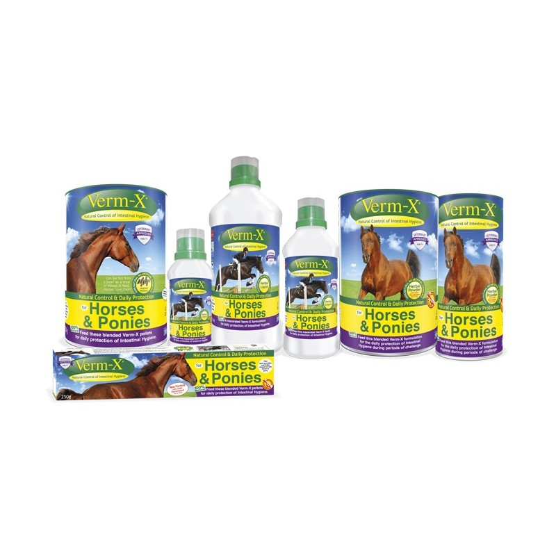 Verm-X Pellets for Horses