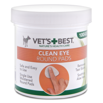 Vet's Best Clean Eye wipes