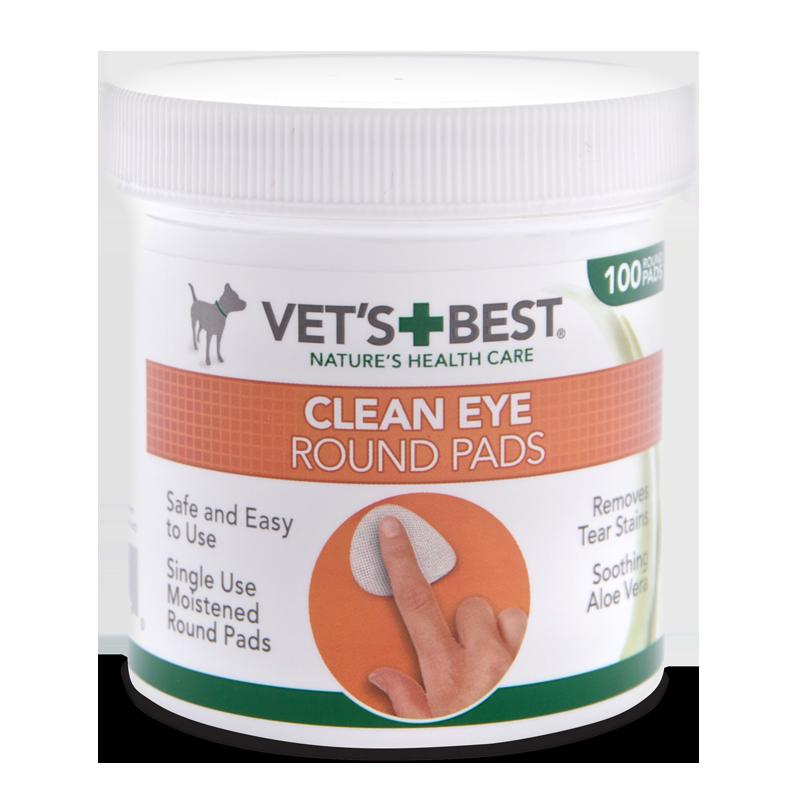 Vet's Best Clean Eye wipes