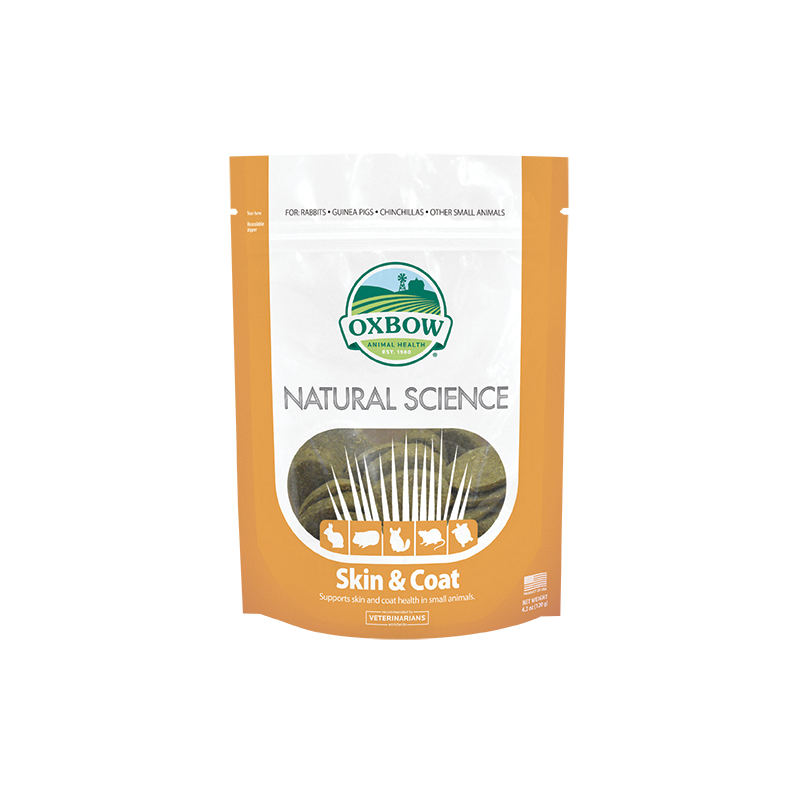 Oxbow Natural Science Skin and Coat  - 60 tablets