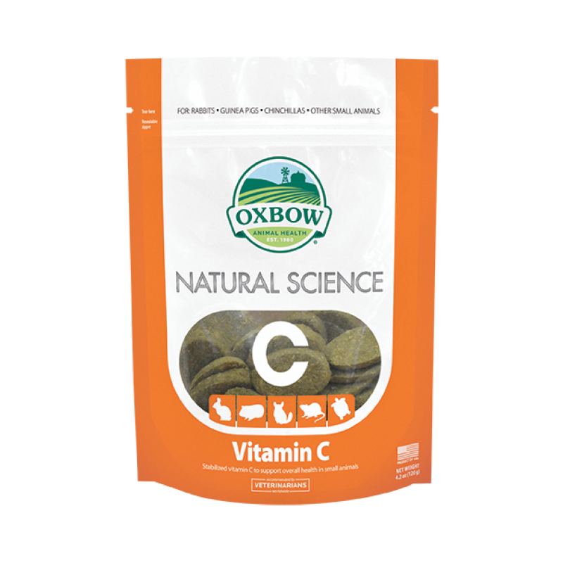 Oxbow Natural Science Vitamin C for small animals