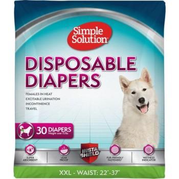 Simple Solution Disposable Diaper - sample