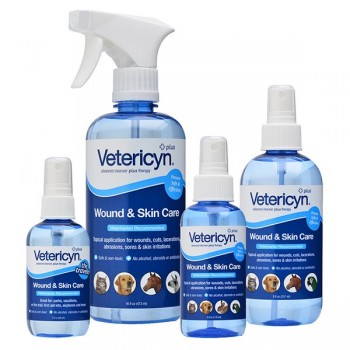 Vetericyn Plus Wound spray - for all animals, helps speed healing