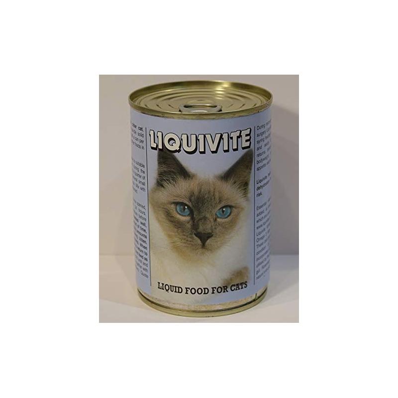 Liquivite liquid food for Cats  395gm tin