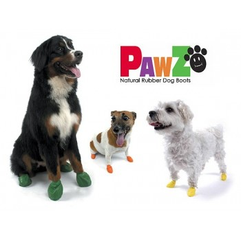 Pawz dog boots in 5 sizes