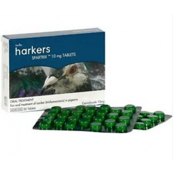 Harkers Spartrix pills for pigeons and chickens