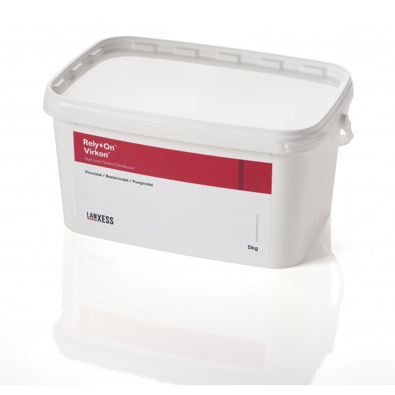 Lanxess Rely+on Virkon 5kg disinfectant for human health care industry