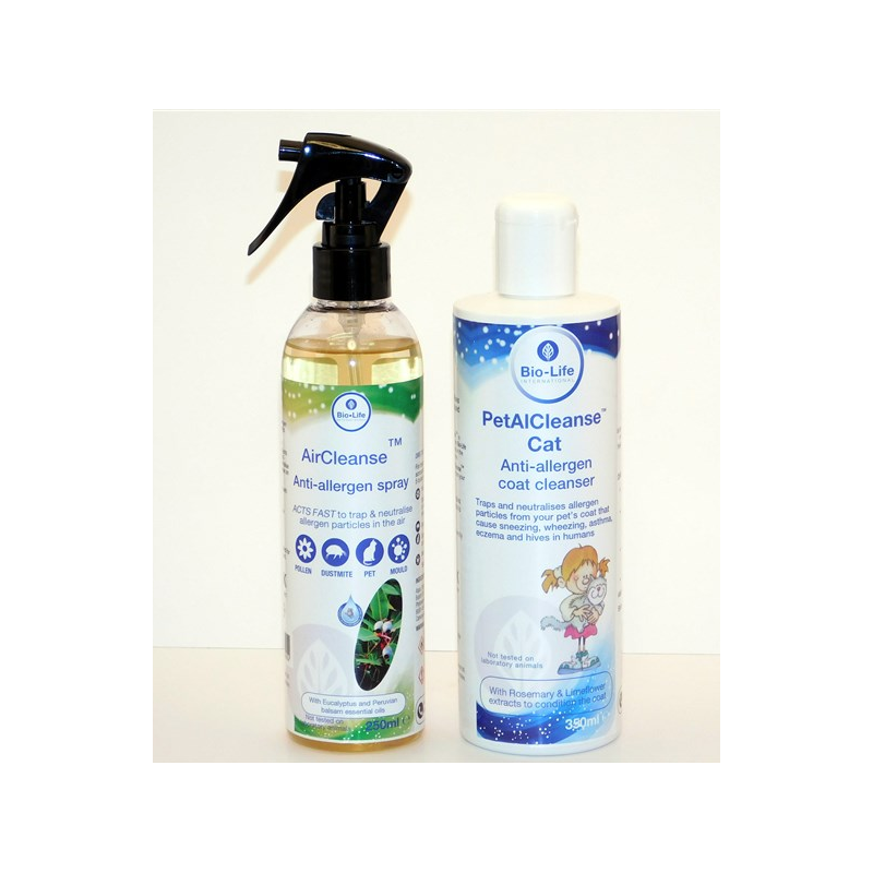 pack of Petalcleanse for Cats and AirCleanse