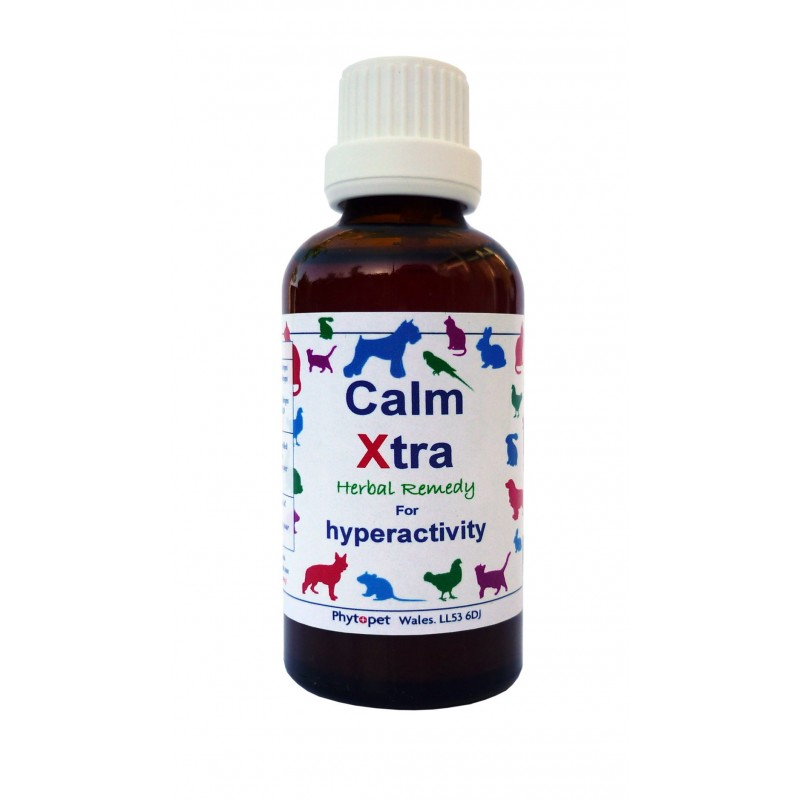 Phytopet Calm X-tra for Stress, Anxiety, Hyperactivity, Insomnia