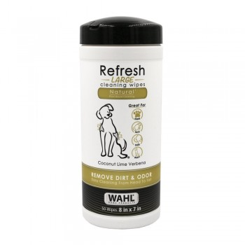 Wahl Refresh cleaning wipes for dogs