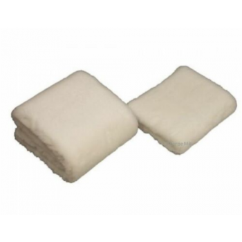 white veterinary fleece 10 pieces of 13x19""