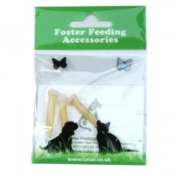 Catac foster feeding teats pack of 3 small size
