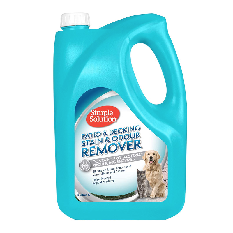 Simple Solution Patio & Decking stain & odour remover  4lt