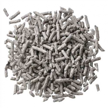 recycled paper pellets